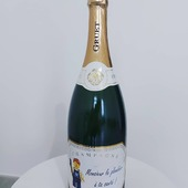 Quand tu es plombier et fan de Lego : Une étiquette personnalisée qui fera plaisir !  👨🏻🔧🔧🍾  Un magnum pour remercier une personne ou tout simplement pour le plaisir d'offrir.  N'hésitez pas peu importe il sera fortement apprécié. 🙂🍾  Champagne Magnum Brut Blanc de Blancs.  #champagne #champagnegruet #champagnegruetetfils #magnum #brut #blancdeblancs #brutblancdeblancs #lego #plombier #legoplombier #cadeau #marne #champagneardenne #bethon